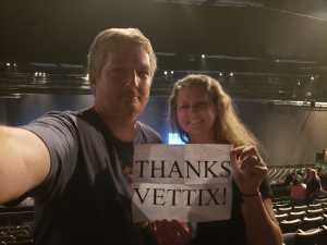 Roy attended Trace Adkins & Clint Black- Theatre Grand Prairie on Jun 16th 2019 via VetTix