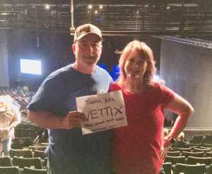 Ralph attended Trace Adkins & Clint Black- Theatre Grand Prairie on Jun 16th 2019 via VetTix
