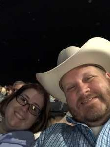 Andrew attended Trace Adkins & Clint Black- Theatre Grand Prairie on Jun 16th 2019 via VetTix