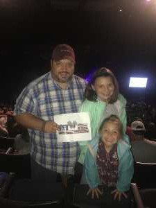 Paul attended Trace Adkins & Clint Black- Theatre Grand Prairie on Jun 16th 2019 via VetTix