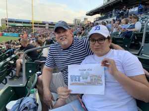 Shawn  attended Buffalo Bisons vs. Indianapolis - MiLB on Jun 19th 2019 via VetTix