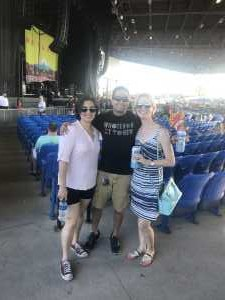 Raymond attended Summer Gods Tour 2019 Presented by 105. 7 the Point - Alternative Rock on Jun 25th 2019 via VetTix