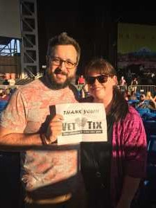 Jason attended Summer Gods Tour 2019 Presented by 105. 7 the Point - Alternative Rock on Jun 25th 2019 via VetTix