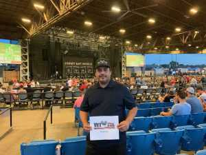 Conrad attended Summer Gods Tour 2019 Presented by 105. 7 the Point - Alternative Rock on Jun 25th 2019 via VetTix