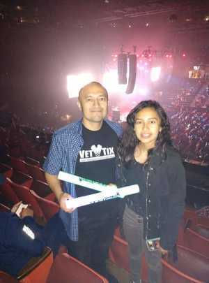 Marcos attended 93. 3 Summer Kick Off Tour on May 31st 2019 via VetTix