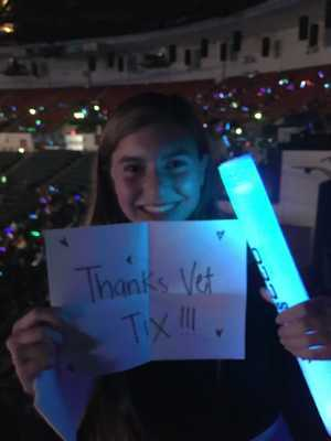 Michael attended 93. 3 Summer Kick Off Tour on May 31st 2019 via VetTix