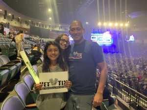 Jeong attended 93. 3 Summer Kick Off Tour on May 31st 2019 via VetTix