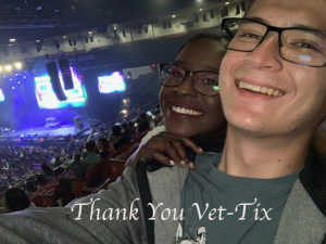 Arthur attended 93. 3 Summer Kick Off Tour on May 31st 2019 via VetTix