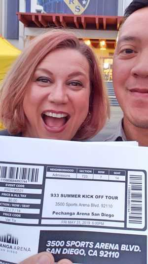 RSC attended 93. 3 Summer Kick Off Tour on May 31st 2019 via VetTix