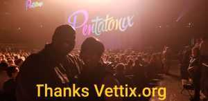 Paul attended Pentatonix: the World Tour With Special Guest Rachel Platten - Pop on Jun 16th 2019 via VetTix