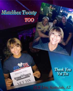 Click To Read More Feedback from Matchbox Twenty Too