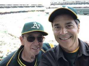 Dwayne attended Oakland Athletics vs. Baltimore Orioles - MLB on Jun 19th 2019 via VetTix