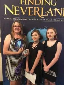 Donna attended Finding Neverland on Jun 18th 2019 via VetTix