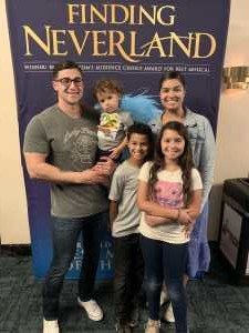 Carissa attended Finding Neverland on Jun 18th 2019 via VetTix