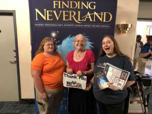Jandy attended Finding Neverland on Jun 18th 2019 via VetTix