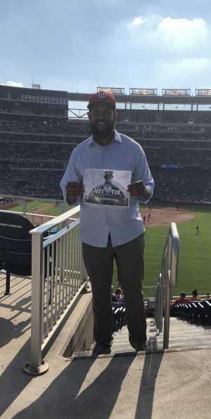 John attended Washington Nationals vs. Cincinnati Reds - MLB on Aug 14th 2019 via VetTix