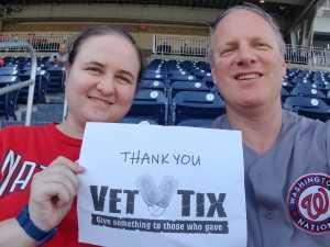 Michael attended Washington Nationals vs. Cincinnati Reds - MLB on Aug 14th 2019 via VetTix