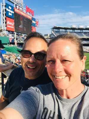 Denise attended Washington Nationals vs. Cincinnati Reds - MLB on Aug 14th 2019 via VetTix