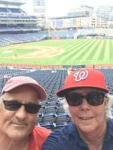 Carol attended Washington Nationals vs. Cincinnati Reds - MLB on Aug 14th 2019 via VetTix