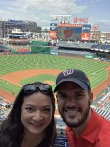 Nicholas attended Washington Nationals vs. Cincinnati Reds - MLB on Aug 14th 2019 via VetTix