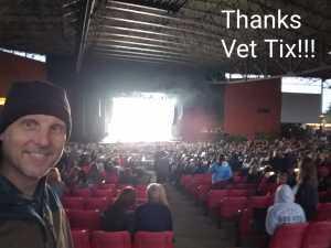 Brian attended Train/goo Goo Dolls - Pop on Jun 7th 2019 via VetTix
