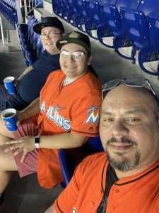 David attended Miami Marlins vs. Atlanta Braves - MLB on Jun 7th 2019 via VetTix