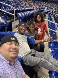 Miguel attended Miami Marlins vs. Atlanta Braves - MLB on Jun 7th 2019 via VetTix