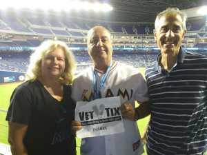 Manny attended Miami Marlins vs. Atlanta Braves - MLB on Jun 7th 2019 via VetTix
