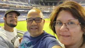 Jorge  attended Miami Marlins vs. Atlanta Braves - MLB on Jun 7th 2019 via VetTix