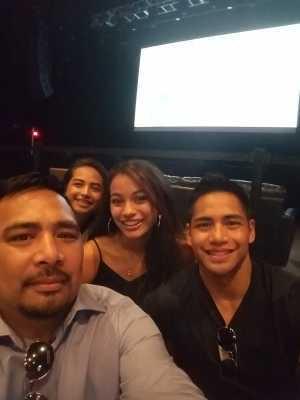Dominador attended Movie Night: Top Gun on Jun 27th 2019 via VetTix