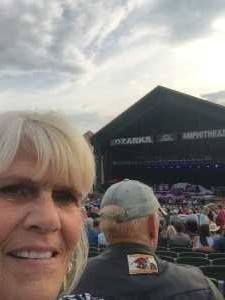 Cynthia attended The Outlaws and Renegades Tour featuring: Travis Tritt, The Charlie Daniels Band and The Cadillac Three Band on Jun 7th 2019 via VetTix