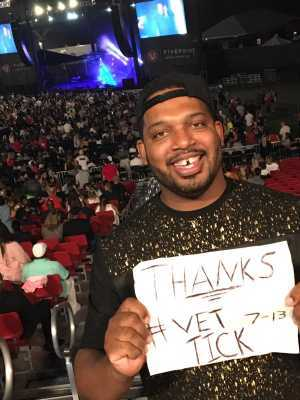 Sherler Harris III attended Hammer's House Party - Pop on Jul 13th 2019 via VetTix
