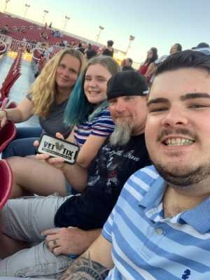 David attended Hammer's House Party - Pop on Jul 13th 2019 via VetTix