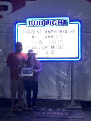 Eric attended Hammer's House Party - Pop on Jul 13th 2019 via VetTix