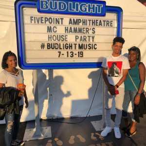 Stacy attended Hammer's House Party - Pop on Jul 13th 2019 via VetTix