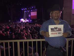 Seung attended Outlaw Music Festival With Willie Nelson - Lawn Seats on Jul 3rd 2019 via VetTix