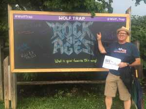 Dan attended Rock of Ages: 10th Anniversary Tour - Tuesday on Jun 18th 2019 via VetTix