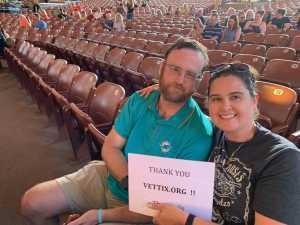 Jackie attended Rock of Ages: 10th Anniversary Tour- Wednesday on Jun 19th 2019 via VetTix