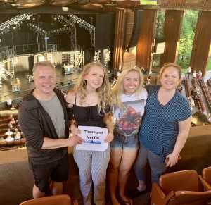 Daniel attended Rock of Ages: 10th Anniversary Tour- Wednesday on Jun 19th 2019 via VetTix