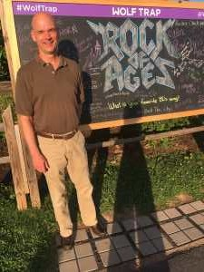 Steven attended Rock of Ages: 10th Anniversary Tour- Wednesday on Jun 19th 2019 via VetTix