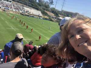 michael attended Major League Rugby Semi-finals: San Diego Legion vs. Rugby United New York on Jun 9th 2019 via VetTix