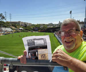 Len Bradshaw attended Major League Rugby Semi-finals: San Diego Legion vs. Rugby United New York on Jun 9th 2019 via VetTix