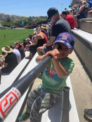 Carlos attended Major League Rugby Semi-finals: San Diego Legion vs. Rugby United New York on Jun 9th 2019 via VetTix