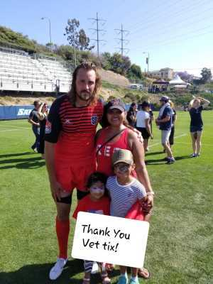 IBAN attended Major League Rugby Semi-finals: San Diego Legion vs. Rugby United New York on Jun 9th 2019 via VetTix