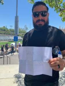 Dustin attended Major League Rugby Semi-finals: San Diego Legion vs. Rugby United New York on Jun 9th 2019 via VetTix