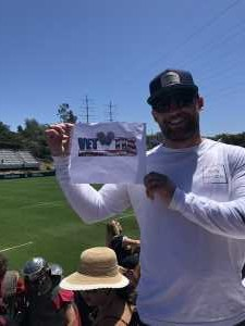 Andy attended Major League Rugby Semi-finals: San Diego Legion vs. Rugby United New York on Jun 9th 2019 via VetTix