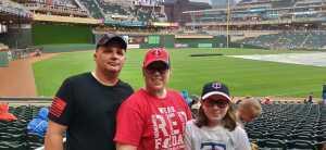 Michael Nelson attended Minnesota Twins vs. Texas Rangers - MLB on Jul 5th 2019 via VetTix