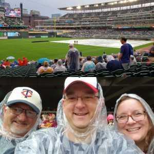 Steve attended Minnesota Twins vs. Texas Rangers - MLB on Jul 5th 2019 via VetTix