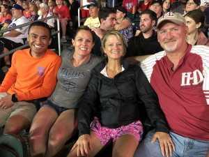 Justine  attended Minnesota Twins vs. Texas Rangers - MLB on Jul 5th 2019 via VetTix