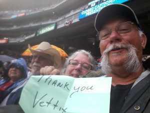 Theodore attended Minnesota Twins vs. Texas Rangers - MLB on Jul 5th 2019 via VetTix